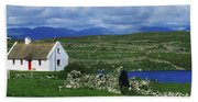 Connemara, Co Galway, Ireland Cottages Bath Towel