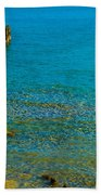 Constance Lake Landscape Bath Towel