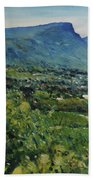 Constantia Valley Cape Town South Africa 2017 Bath Towel