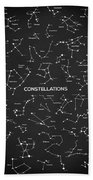 Constellations Bath Towel