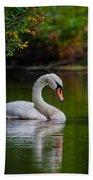 Contemplating Swan Bath Towel
