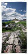 Continental Divide Above Twin Lakes 6 - Weminuche Wilderness Bath Towel
