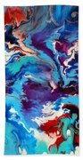 Convergence Of The Four Winds Bath Towel