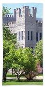 Cook Hall Illinois State Univerisity Bath Towel