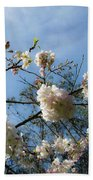 Cool Cherry Blossoms Bath Towel