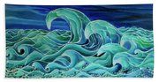 Cool Waves 3-  Bath Towel