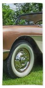 Copper 1967 Corvette  Bath Towel