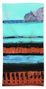 Copper Cliffs Beachside Bath Towel