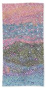 Coral Blues  Bath Towel