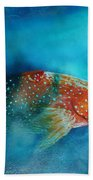 Coral Trout Bath Towel