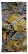 Corn Crops Bath Towel