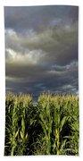 Corn Field Beform Storm Bath Towel