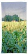 Corn Field  Bath Towel