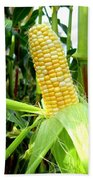 Corn On The Cob Bath Towel