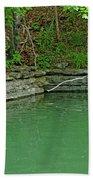Corner Of The Lake Bath Towel