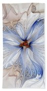 Cornflower Blues Bath Towel
