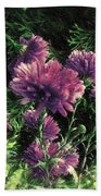 Cornflowers Autumngraphy - Photopainting Light Bath Towel
