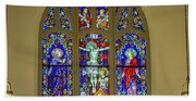 Corr Hall Stain Glass Hand Towel
