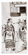 Cortes & Montezuma, 1519 Bath Towel