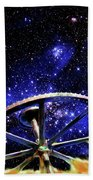 Cosmic Wheel Bath Towel
