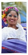 Costa Maya Dancer Bath Towel