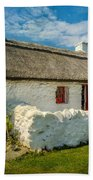 Cottage In Wales Bath Towel