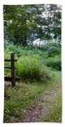 Cottage Path Hand Towel