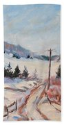 Cottage Road Hand Towel