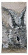 Cottontail Rabbit Hand Towel