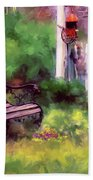 Country Garden Bath Towel