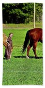 Country Girls Bath Towel