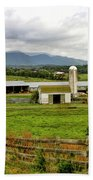 Country Scenic In West Virginia Bath Towel