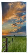 Countryside Sunset Hand Towel