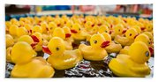 County Fair Rubber Duckies Hand Towel