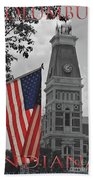 Courthouse In America Bath Towel