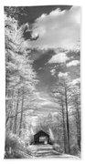 Covered Bridge Dupont North Carolina Bath Towel