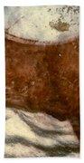 Cow: Lascaux, France Bath Towel