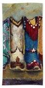 Cowgirls Kickin The Blues Hand Towel