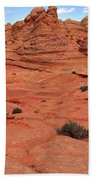 Coyote Buttes Pink Landscape Bath Towel
