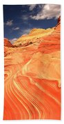 Coyote Buttes Sandstone Towers Bath Towel