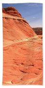 Coyote Buttes Swirling Sandstone Bath Towel