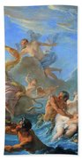 Coypel's The Abduction Of Europa Bath Towel
