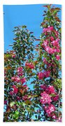 Crab Apple Blossoms Bath Towel