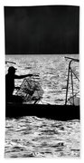 Crabbing On The Pamlico Bath Towel