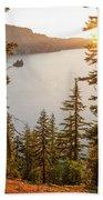 Crater Lake Bath Towel