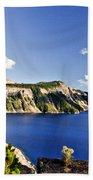 Crater Lake II Bath Towel