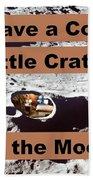 Crater1 Bath Towel