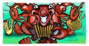 Crawfish Band Hand Towel
