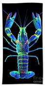 Crawfish In The Dark - Blublue Bath Towel