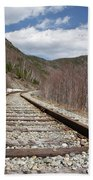 Crawford Notch State Park - Maine Central Railroad Bath Towel